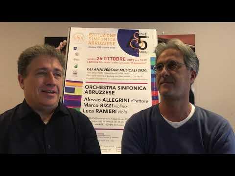 Luca Ranieri e Marco Rizzi con l'OSA